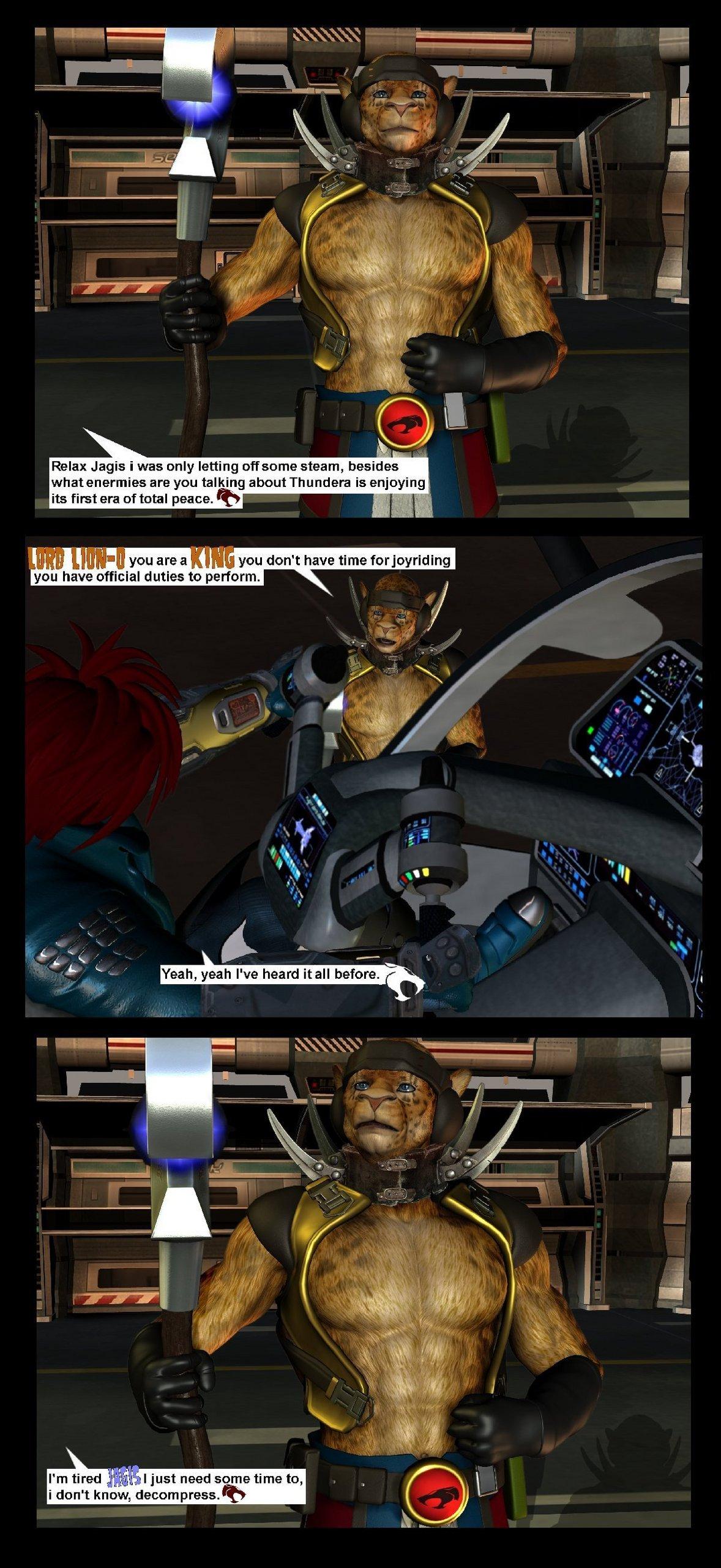Thundercats Chronicles graphic novel Comic