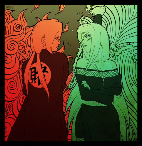 Tsunade and Terumii Mei