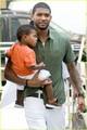 Usher & Sons: Central Park Family! - usher photo