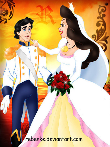 Vanessa the Mystery Maiden वॉलपेपर called Vanessa & Prince Eric