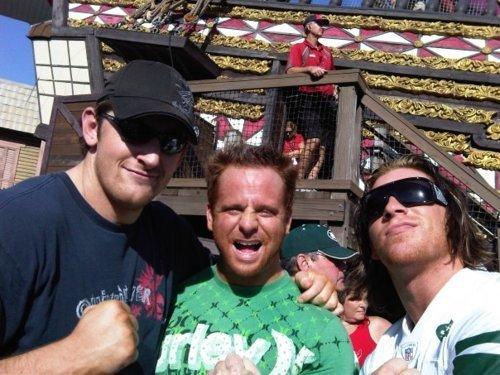 Wade Barrett and Curt Hawkins