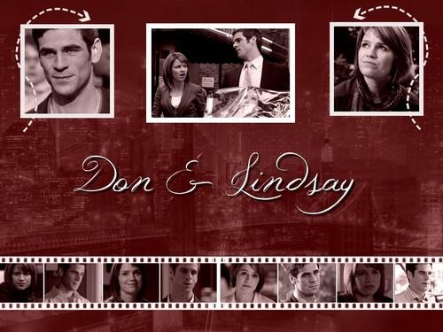 fondo de pantalla Lindsay & Don