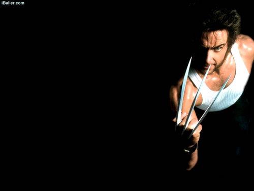 Hugh Jackman as Wolverine wolpeyper called Wolverine