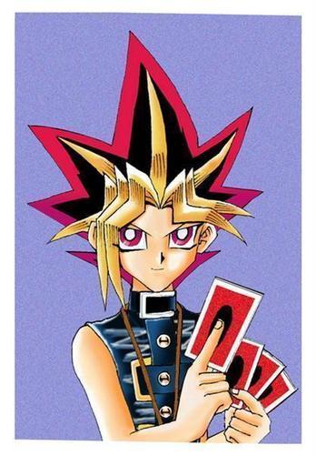 Yugi's cards