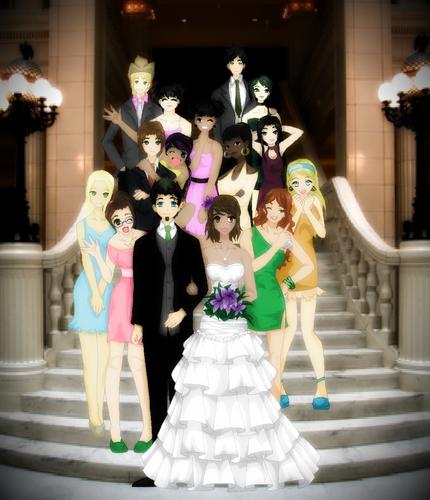 a total drama wedding!! <3