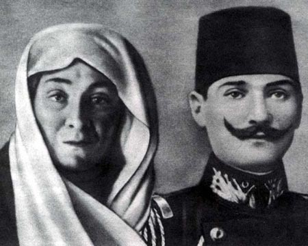 ataturk's mother and father