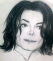 drawings Kobeleva Sofia 16 years old Russia, Belgorod - prince-michael-jackson photo