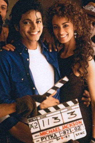 MJ behind the scenes wallpaper possibly containing a multiplex titled making of the way you make me feel
