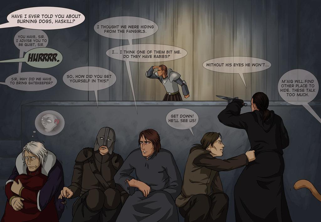 oblivion characters play hide and seek