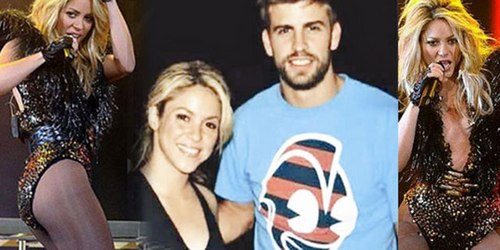 Gerard Piqué wallpaper with a leotard, tights, and a maillot called pique shakira hot