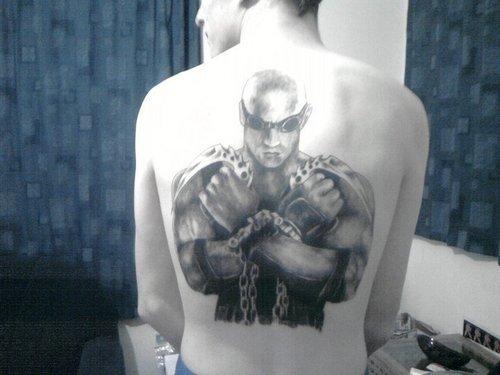riddick tattoo