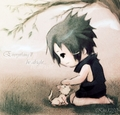 sasuke is cute boy