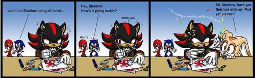 shadow the hedgehog & creem's ipod