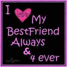 to my sis and bff