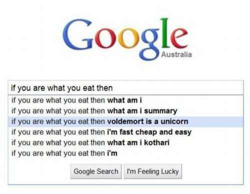 voldemort is a unicorn
