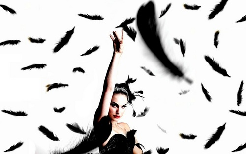 'Black Swan' Poster Wallpaper