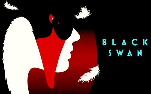 'Black Swan' Poster wallpaper