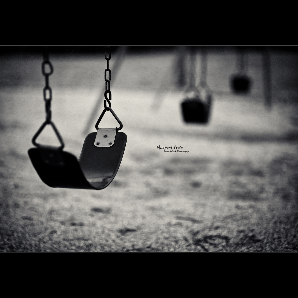 Hd wallpaper and background photos · depression hintergrund probably with a swing schaukel called