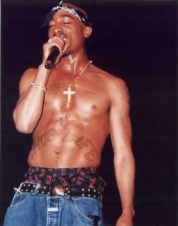 Tupac Shakur fond d'écran titled 2pac forever