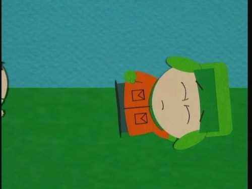 South Park wolpeyper possibly with a sign called 2x04 Ike's Wee Wee