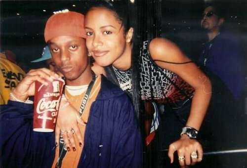 Aaliyah with...