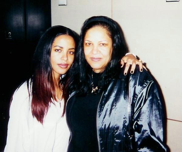 Aaliyah with...