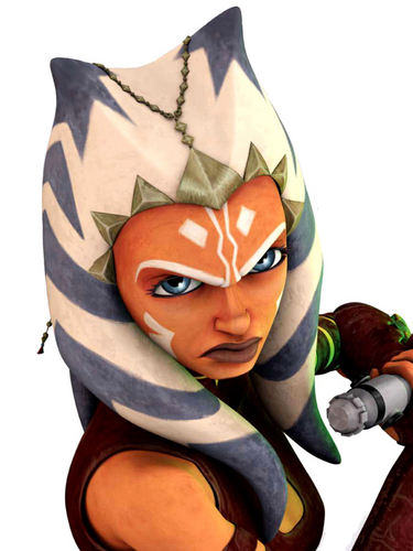 étoile, étoile, star Wars: Clone Wars fond d'écran entitled Ahsoka
