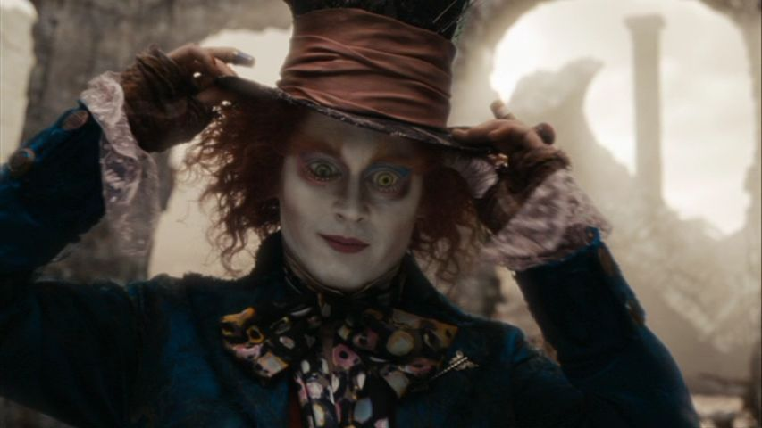 Johnny Depp s movie characters Alice In Wonderland ScreencapsOriginal Alice In Wonderland Movie Characters