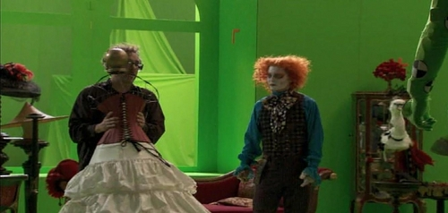 Alice in WOnderland-Behind the scenes