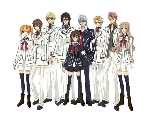 Vampire Knight Hintergrund entitled All Vampire Knight characters