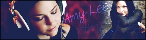 Amy banner - evanescence Fan Art