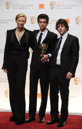 Andrew at The BAFTA's - February 13th 2011