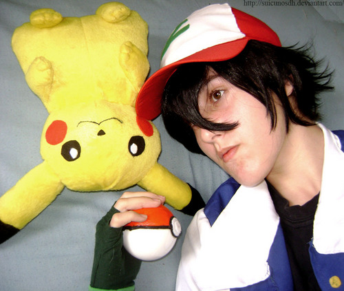 Ash Pokemon cosplay