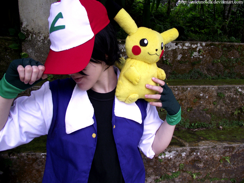 Ash Pokemon cosplay