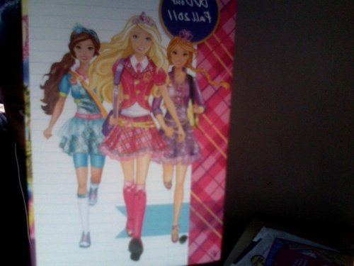 Barbie Princess Charm School- poster inside FS DVD