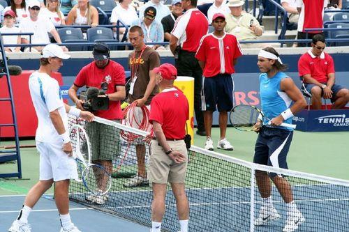 Berdych beat Nadal