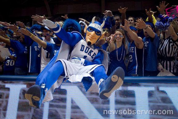 Duke Basketball Blue Devil