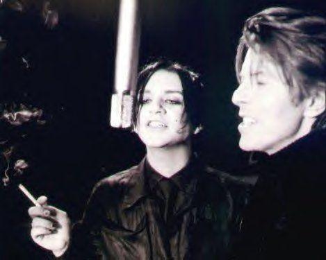 Brian & Mr. Bowie!