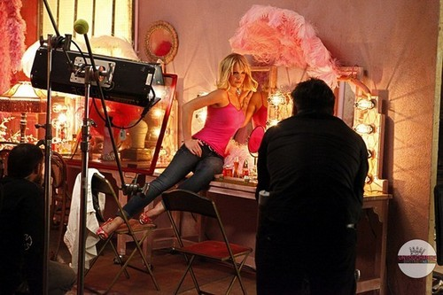 Britney Spears Candie's photoshoot and behind the scenes footage