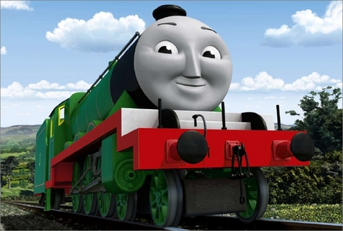 Thomas the Tank Engine wallpaper entitled CGI Henry