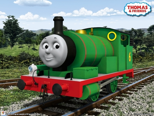 Thomas the Tank Engine Hintergrund entitled CGI Percy
