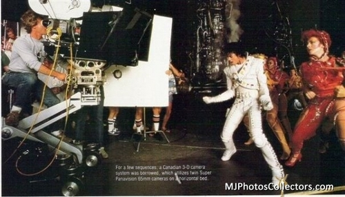 Captain EO Behind The Scenes