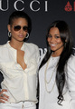 Cassie + Lauren London - Gucci & Roc Nation Pre-Grammy