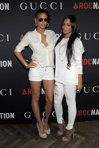 Cassie + Lauren Luân Đôn - Gucci & Roc Nation Pre-Grammy