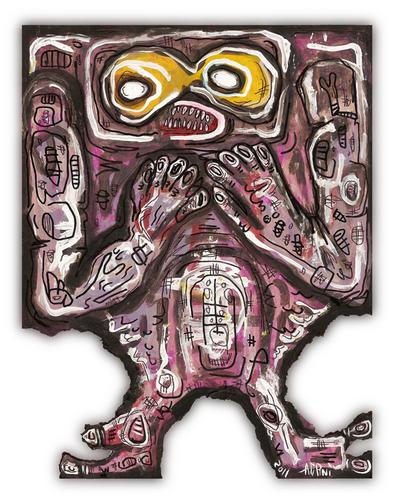 Cave Troll द्वारा artist Justin Aerni