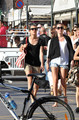 carlotta, charlotte Casiraghi spends some time with her Friends