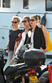 Charlotte Casiraghi spends some time with her friends