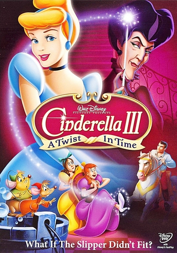 cinderela 3 - A Twist in Time DVD Cover