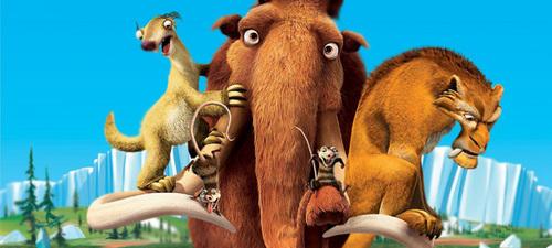Crash, Manny, Diego, Sid and Eddie