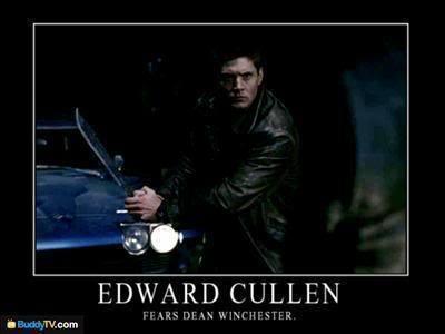 Dean Winchester > Edward Cullen